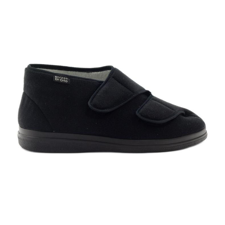 Befado obuwie męskie  pu 986M003 czarne