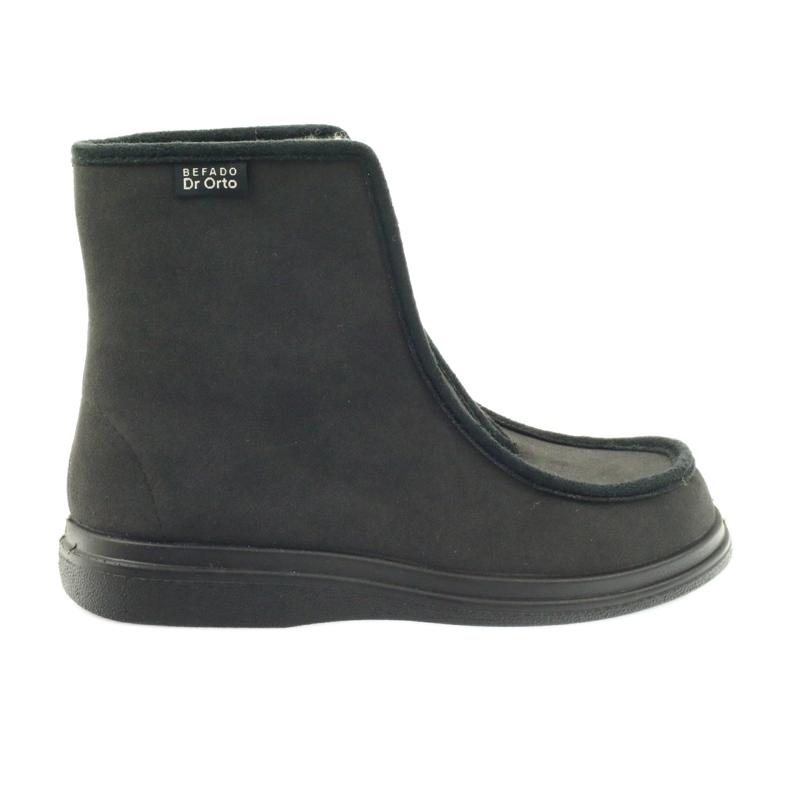 Befado obuwie  męskie pu 996M008 czarne