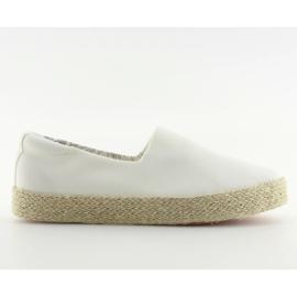 Espadryle slip-on białe k1833801 blanco