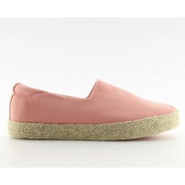 Espadryle slip-on różowe k1833801 Rosa