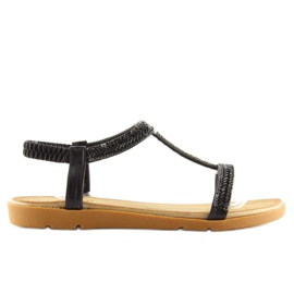 Sandałki damskie czarne FM5035 Black