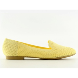 Baleriny lordsy żółte 6080 Yellow
