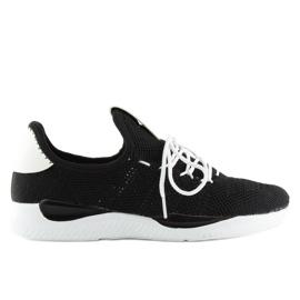 Buty sportowe czarne BK367 Black