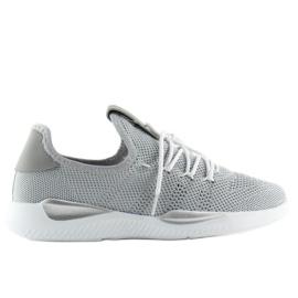 Buty sportowe szare BK367 Grey