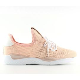 Buty sportowe różowe BK367 Pink