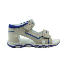 Sandałki na rzepy Bartek 31825 szare