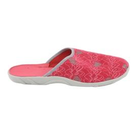 Czerwone Befado obuwie damskie 235D160