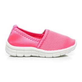 Doremi Wygodne buciki dla dziewczynek różowe