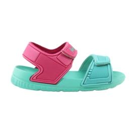 American Club miętowe sandałki dziecięce do wody 6631