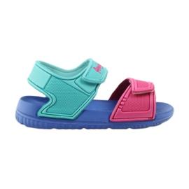 American Club niebieskie sandałki dziecięce do wody 6631