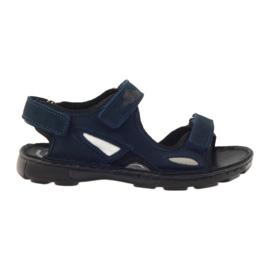 Sandałki elastyczne Ren But 4255 granat