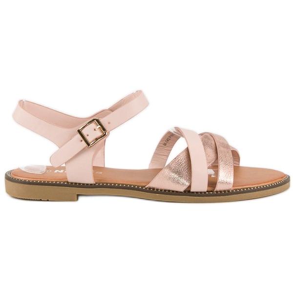 Nio Nio Klasyczne różowe sandały