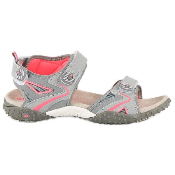 American Club Sportowe sandały american szare