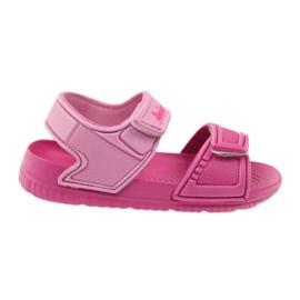 American Club American sandałki buty dziecięce do wody różowe