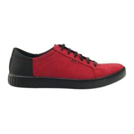 Półbuty sportowe Badura 3356 czerwone
