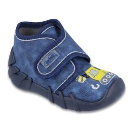 Befado obuwie dziecięce 525P012 niebieskie