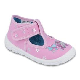 Befado obuwie dziecięce  531P009 różowe