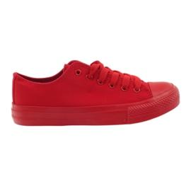 DK Trampki wiązane czerwone