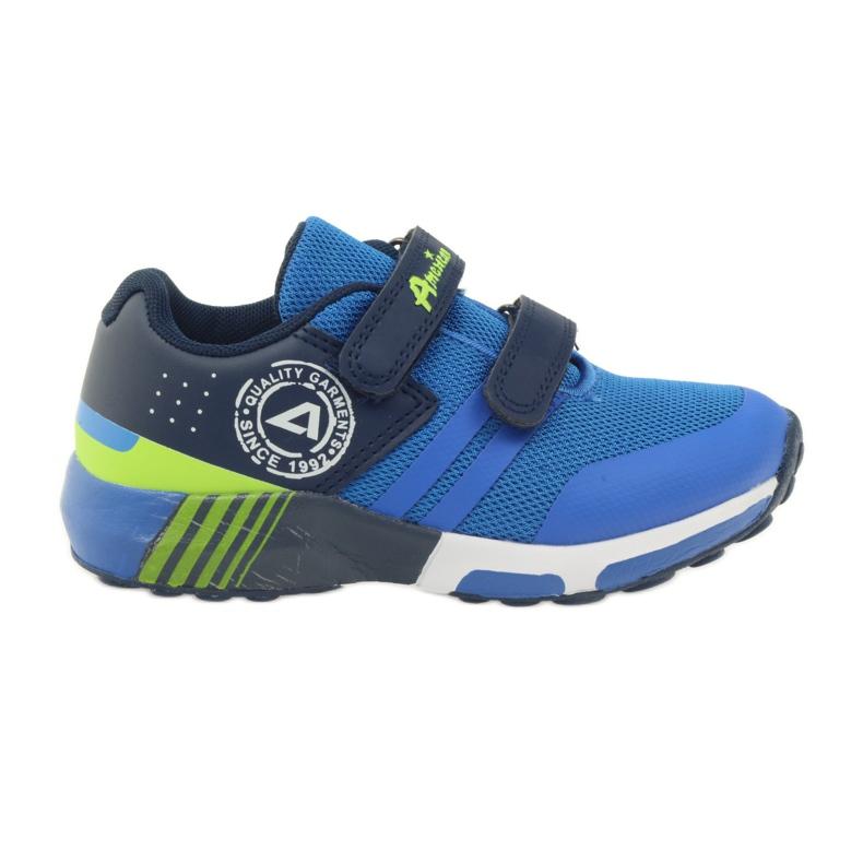 American Club American ADI sportowe buty dziecięce 16687 niebieskie