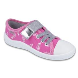 Różowe Befado obuwie dziecięce 251Y110