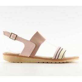 Sandałki damskie różowe J1024-A4 pink