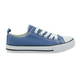 American Club American trampki buty dziecięce tenisówki blue niebieskie