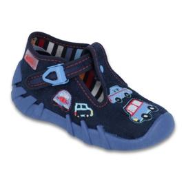 Granatowe Befado obuwie dziecięce 110P213