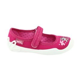 Różowe Befado obuwie dziecięce 114X299