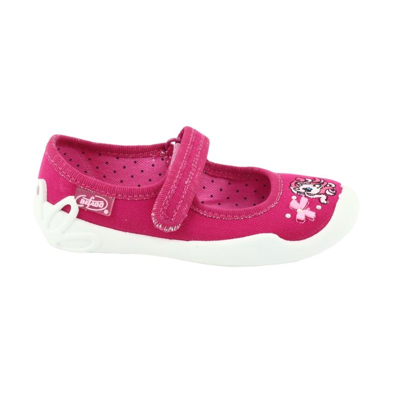 Befado obuwie dziecięce 114X299 różowe