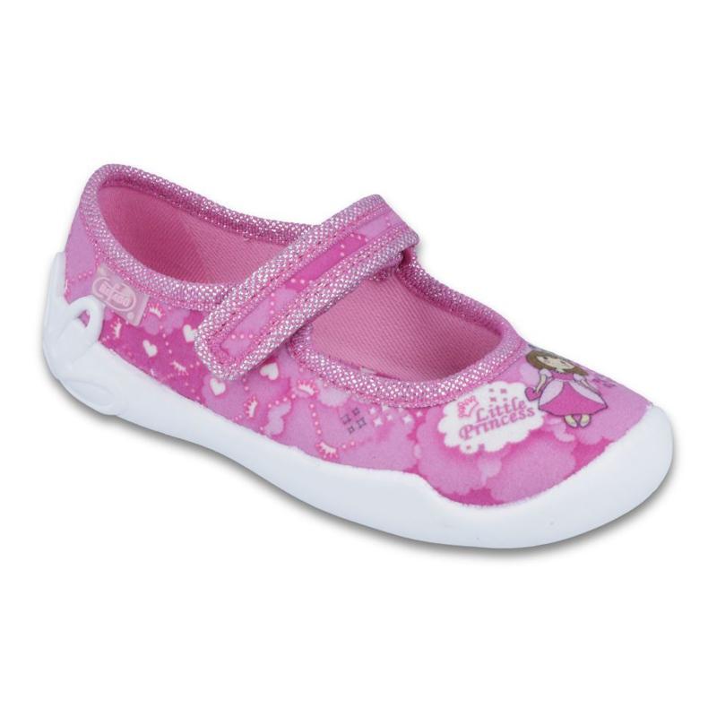 Befado obuwie dziecięce 114X306 różowe