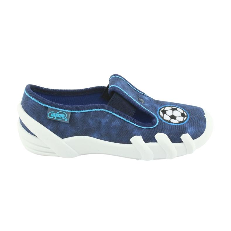 Befado obuwie dziecięce 290X169 niebieskie granatowe