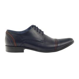 Pantofle męskie VENI VICI 149 granatowe