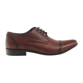 Pantofle męskie VENI VICI 149 brązowe