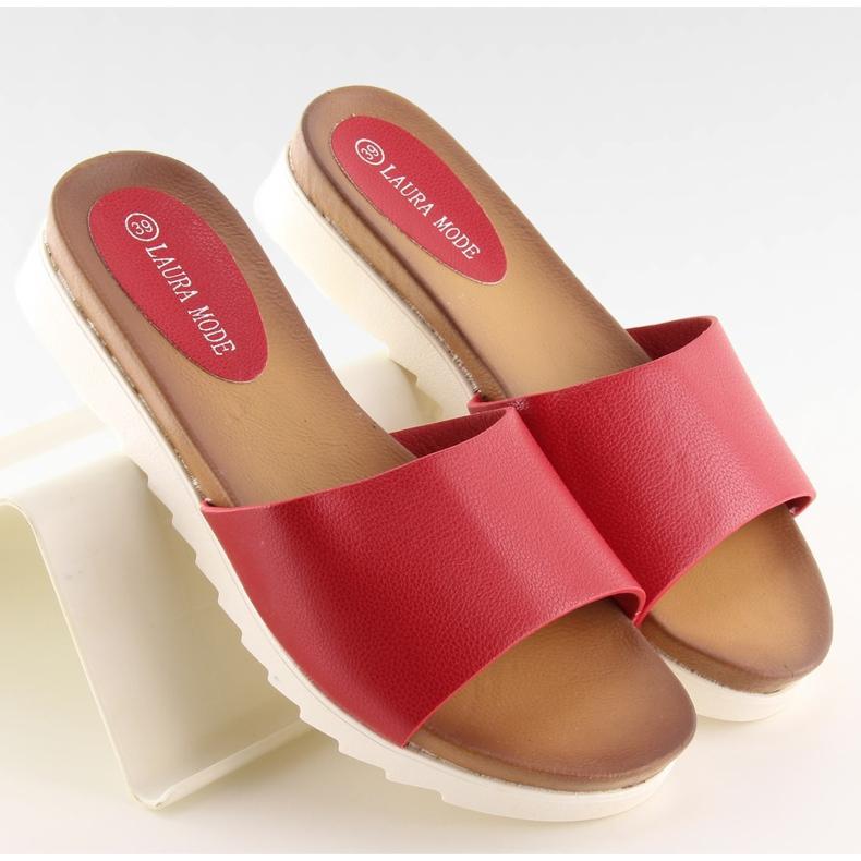 Klapki damskie czerwone H10 Red