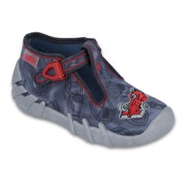 Befado obuwie dziecięce 110P324 granatowe