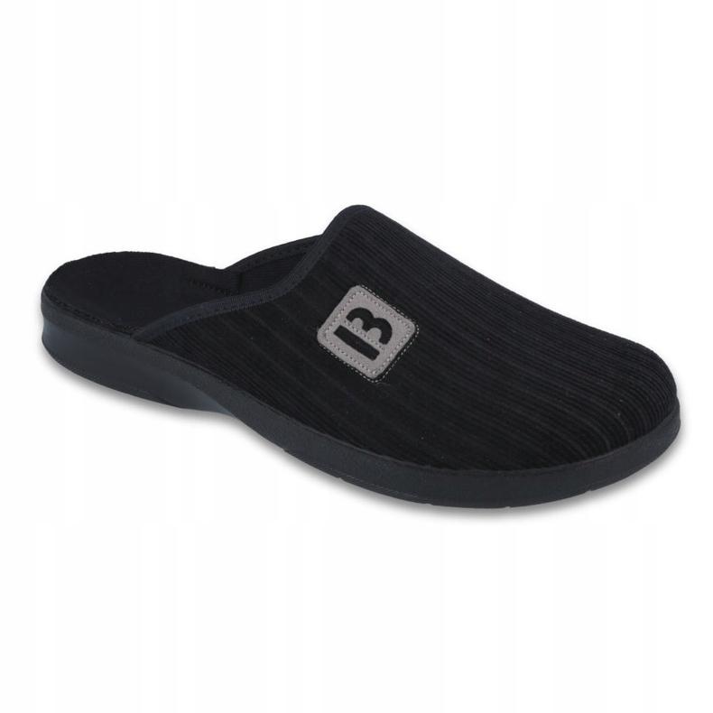 Befado obuwie męskie pu 548M015 czarne