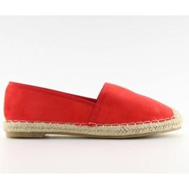 Espadryle klasyczne czerwone BB05P Red