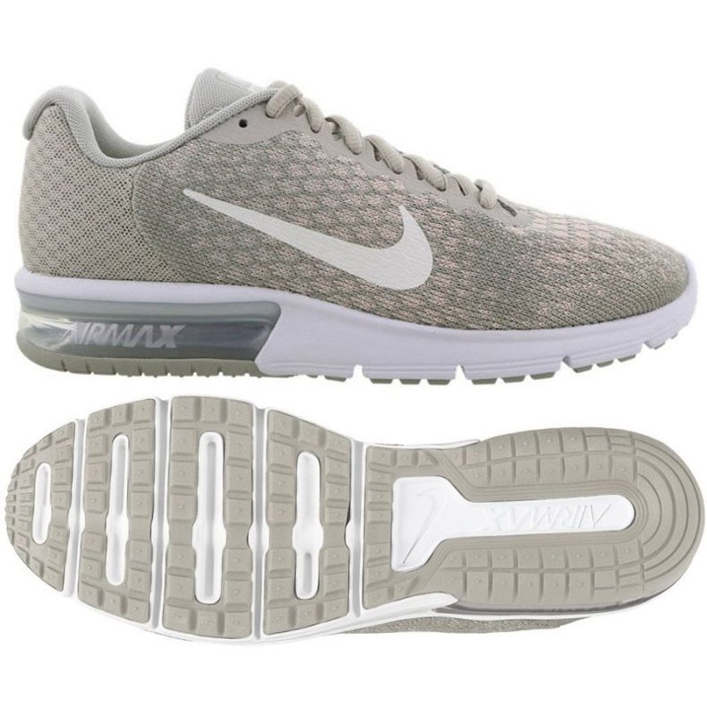 Buty biegowe Nike Wmns Nike Air Max szare