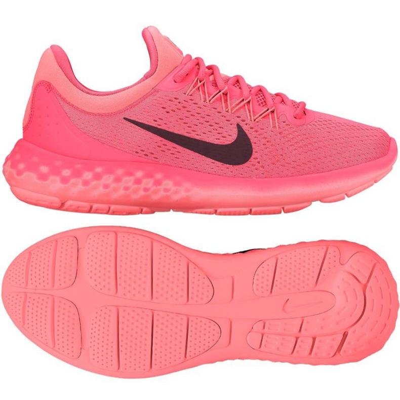 Buty biegowe Nike Wmns Lunar Skyelux różowe