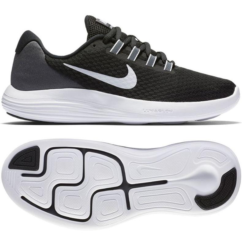 Buty biegowe Nike Lunarconverge W czarne