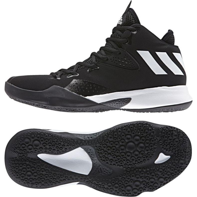 Buty koszykarskie adidas Dual Threat 2017 M BY4182 czarne