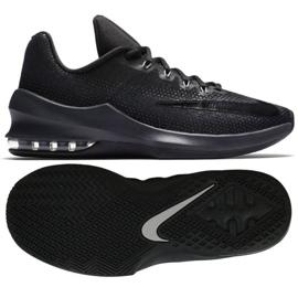 Buty koszykarskie Nike Air Max Infuriate Low M 852457-001 czarny czarne