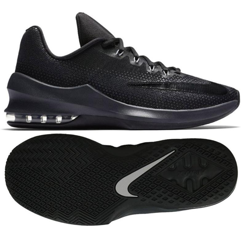 Buty koszykarskie Nike Air Max Infuriate Low M 852457-001 czarne czarne