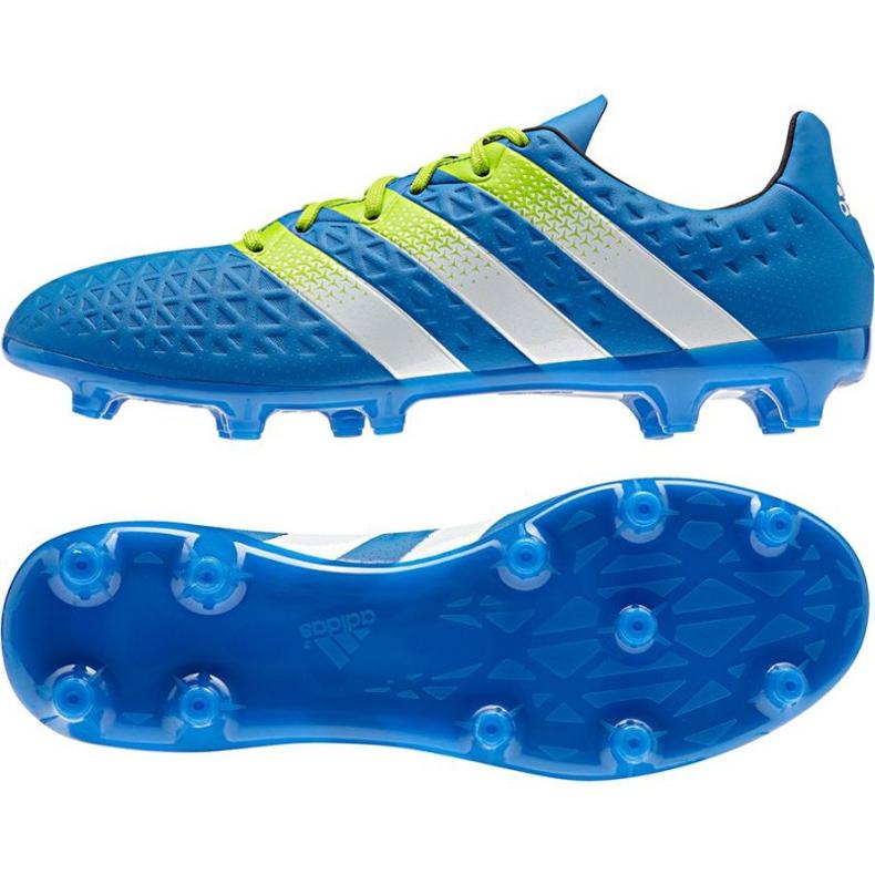 Buty piłkarskie adidas Ace 16.3 FG/AG M niebieskie