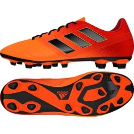 Buty piłkarskie adidas Ace 17.4 FxG M S77094 wielokolorowe czerwone