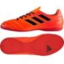 Buty halowe adidas Ace 17.4 In M S77101 czerwone