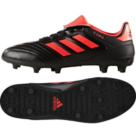 Buty piłkarskie adidas Copa 17.3 Fg M S77144 czarne wielokolorowe