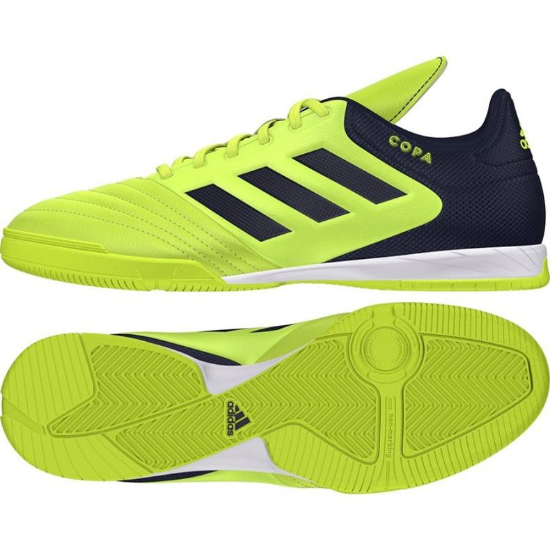 Buty halowe adidas Copa 17.3 In M S77147 zielone