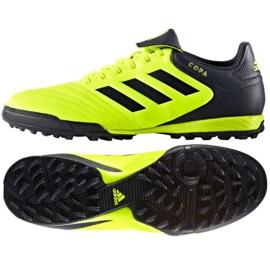 Buty piłkarskie adidas Copa Tango 17.3 Tf M BB6099 czarne zielone