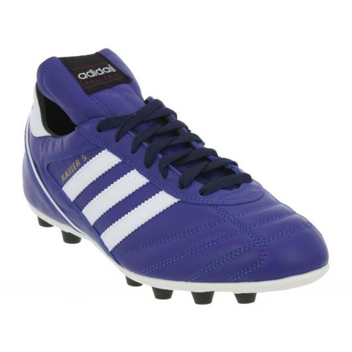 Buty piłkarskie adidas Kaiser 5 Liga Fg M niebieskie